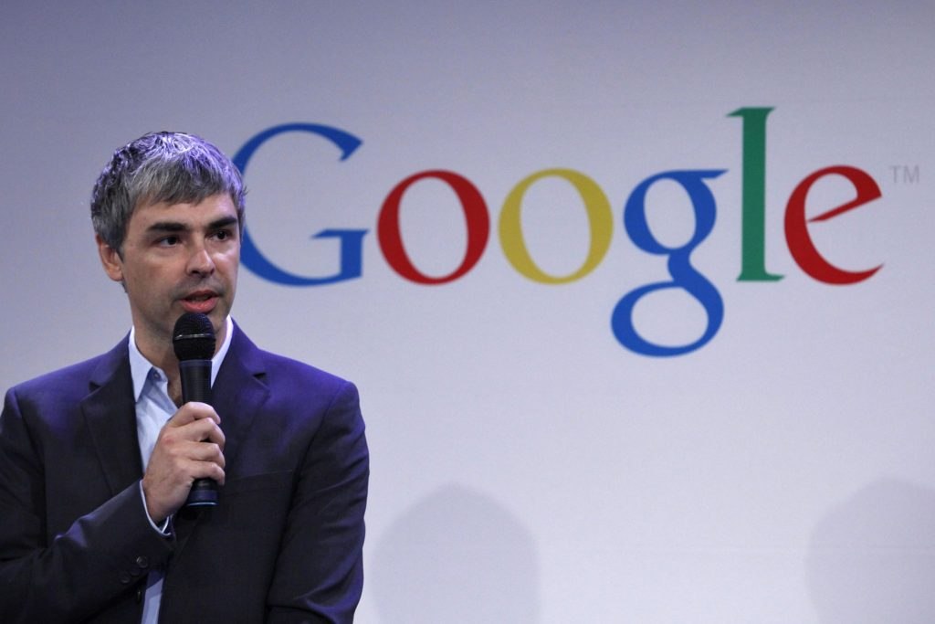 2. Larry Page – Google