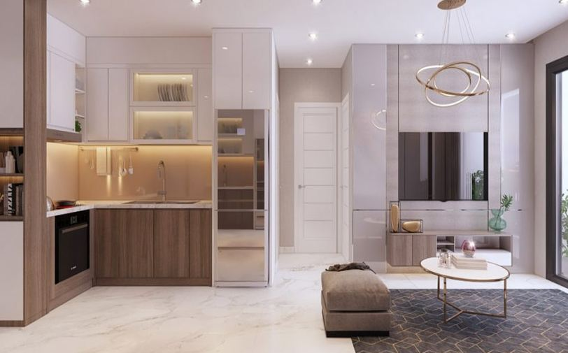 Gia đình trẻ có thể sinh sống tại căn hộ Lovera Vista vô cùng tiện nghi và dễ chịu